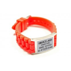 Silicone Watch Strap & Plate